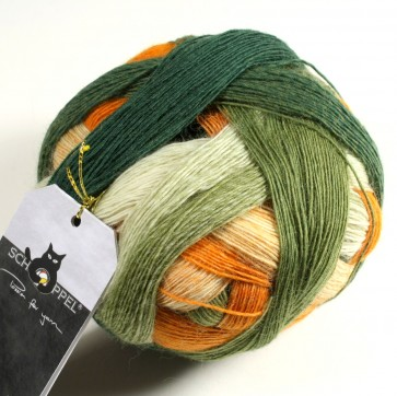 Schoppel Zauberball Laceball 100 # 2330 Herbstmeister NEW COLOR
