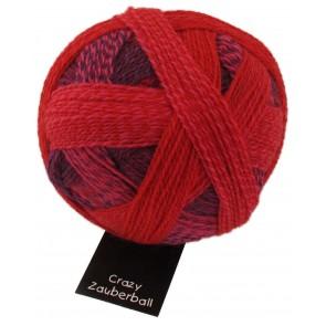 Schoppel Zauberball Crazy # 2095 (indish red) Indisch rosa