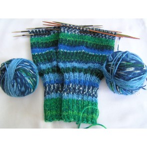 Schoppel Das Paar Matched Sock Yarn # 2208 (Warmfront)