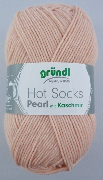 Gründl Hot Socks Pearl with cashmere 50gr. 4ply # 16