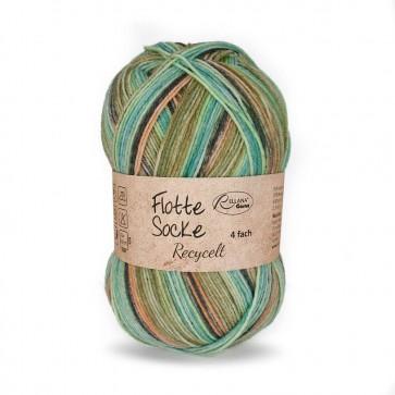 Rellana Flotte Socke Recyclet # 1581 100gr 4ply