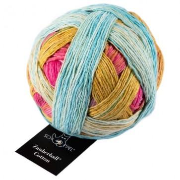 Schoppel Zauberball cotton (organic) # 2406 Sunnyside NEW COLOR