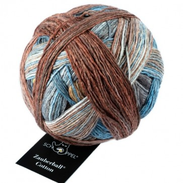 Schoppel Zauberball cotton (organic) # 2407 Downtown NEW COLOR