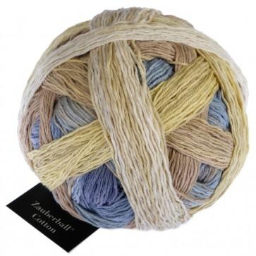 Schoppel Zauberball cotton (organic) # 2440 Feldversuch NEW COLOR