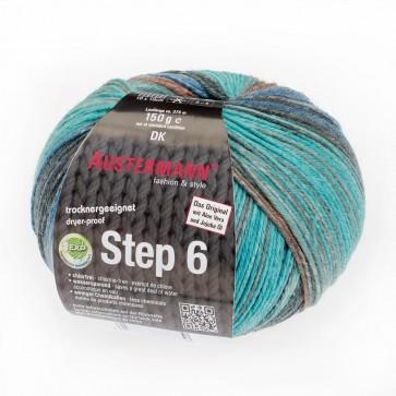 Austermann Step 6 Irish Rainbow 3 color # 629 *6ply