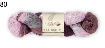 Pro Lana Soul hand dyed color # 80 100gr