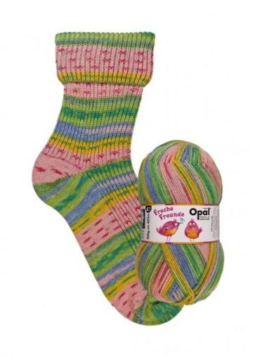 """Opal Freche Freunde """" Früchtchen"""" # 9760 4ply 100gr"""
