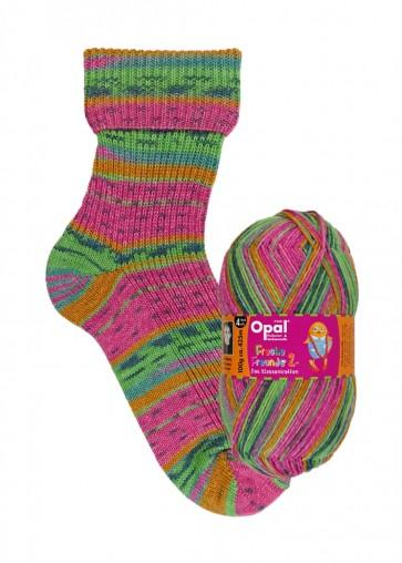 """Opal Freche Freunde 2 """"Miss sunshine"""" # 9955 4ply 100gr"""