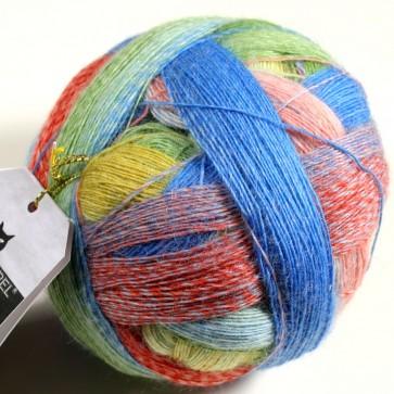Schoppel Lace Ball  # 2310 Bunte Gasse / snickel way