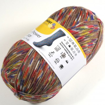 Schachenmayr Flower Power color # 9390 100gr 4ply
