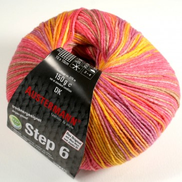 Austermann Step 6 Irish Rainbow 3 color # 626 *6ply