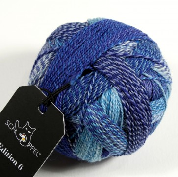 Schoppel Zauberball Edition 6 # 2362 Blauschleier NEW COLOR