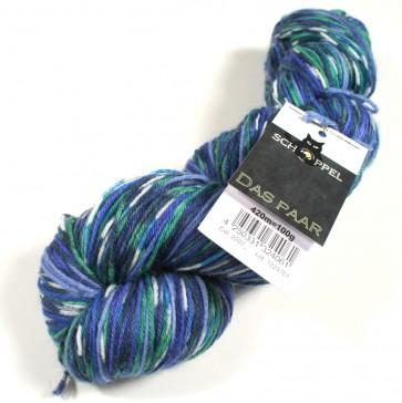 Schoppel Das Paar Matched Sock Yarn # 2207 Azorenhoch)