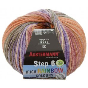 Austermann Step 6 Irish Rainbow color # 631 *6ply