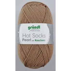 Gründl Hot Socks Pearl with cashmere 50gr. 4ply # 06