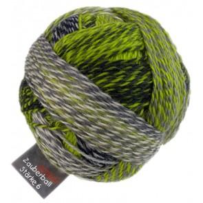 Schoppel Zauberball Crazy Stärke 6 # 2204 grüne Woche