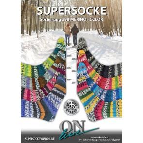 ONline Supersocke 150 Merino color # 2566 *6ply