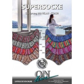 ONline Supersocke 150 Relax merino color # 2602 *8ply