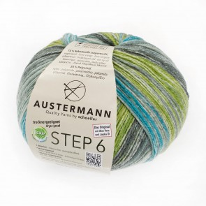 Austermann Step 6 Irish Rainbow 3 color # 628 *6ply