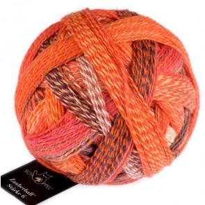 Schoppel Zauberball Crazy Stärke 6 # 2472 Orangerie NEW COLOR
