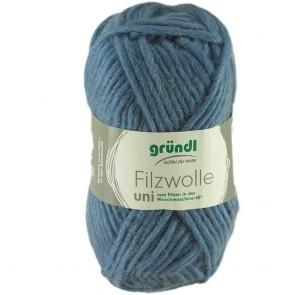 Grundl Filzwolle uni # 17