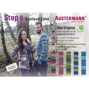 Austermann Step 6 Irish Rainbow 3 color # 682 *6ply