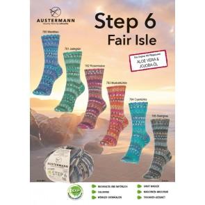 Austermann Step 6 Fair Isle # 784 *6ply