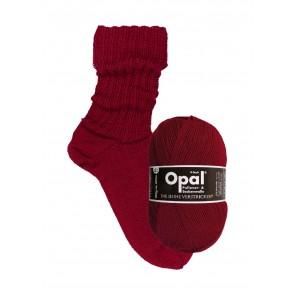 Opal uni Rubinrot # 9939 4ply 100gr