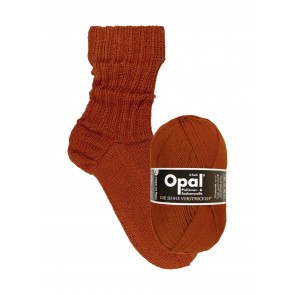 Opal uni Rostbraun # 9941 4ply 100gr