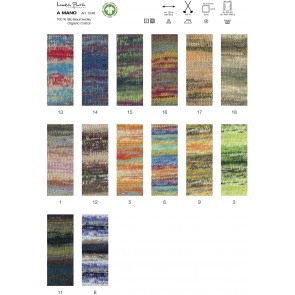 Lana Grossa Linea Pura A Mano 100% organic cotton # 014 50gr
