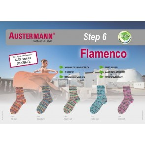Austermann Step 6 Flamenco # 743 *6ply 150gr.