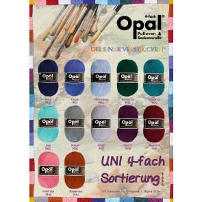 Opal uni Silber # 9937 4ply 100gr