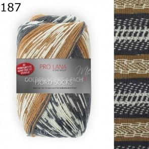 Pro Lana Golden socks Fjord # 187 100gr 4ply
