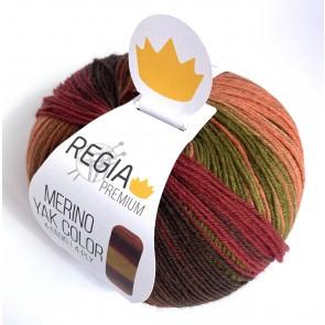 Schachenmayr Regia Premium Merino Yak color # 8510 100gr 4ply