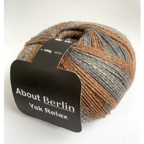 Lana Grossa Meilenweit 100 About Berlin Yak Relax # 669 *4ply NEW