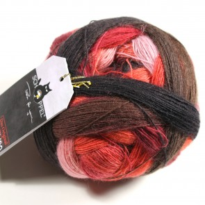 Schoppel Zauberball Laceball 100 # 2305 Red to go
