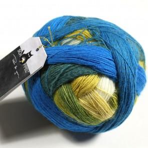 Schoppel Zauberball Laceball 100 # 2309  Blaue Lagune