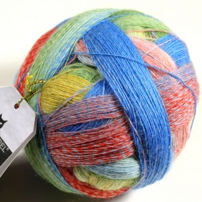 Schoppel Lace Ball  # 2310 Bunte Gasse / snickel way