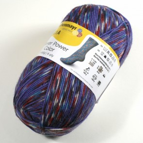 Schachenmayr Flower Power color # 9398 100gr 4ply