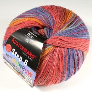 Austermann Step 6 Irish Rainbow color # 632 *6ply