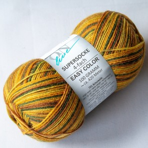 ONline Supersocke 100 Easy color # 2447 4ply