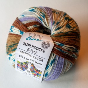 ONline Supersocke 150 Merino color # 2565 *6ply