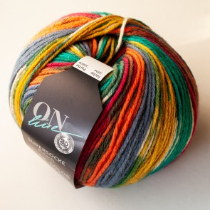 ONline Supersocke 150 Relax merino color # 2604 *8ply