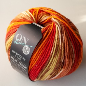 ONline Supersocke 150 Relax merino color # 2601 *8ply