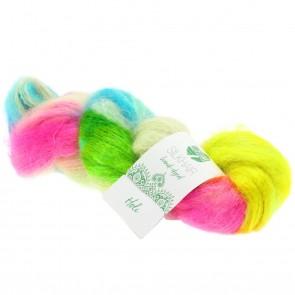 """Lana Grossa Silkhair hand - dyed 601 """"Holi"""" 50gr."""