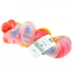 """Lana Grossa Silkhair hand - dyed 603 """"Sari"""" 50gr."""