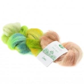 "Lana Grossa Silkhair hand - dyed 606 ""Lassi"" 50gr."