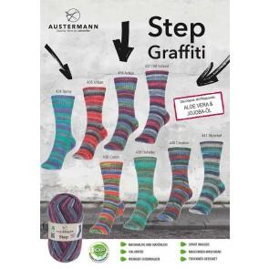 Austermann Step 4 Graffiti # 434 4ply 100gr