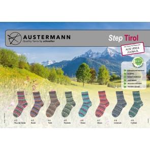 Austermann Step 4 Tirol # 415 4ply 100gr