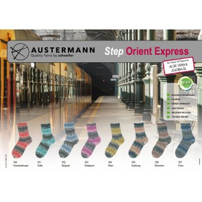 Austermann Step 4 Orient Express # 391 4ply 100gr